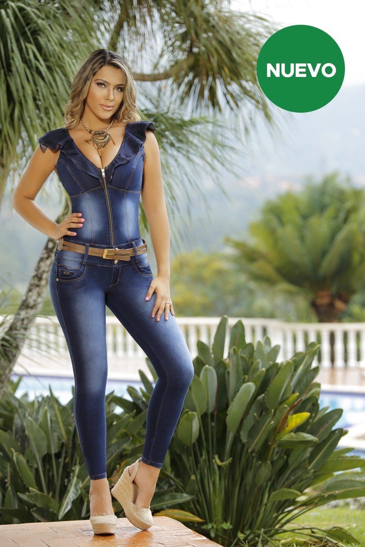 0fa198bd57 Enterizo Minler M3254 - Colombia Jeans - Jeans Colombianos Levanta ...