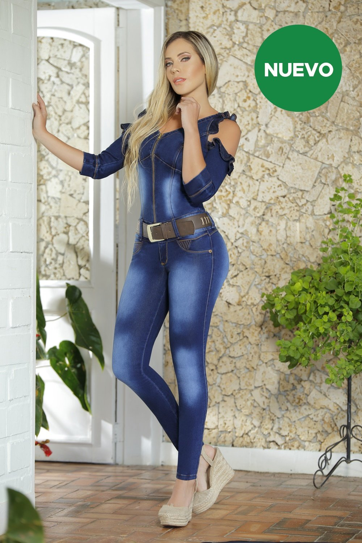 312c438dec Enterizo Aerlie M3256 - Colombia Jeans - Jeans Colombianos Levanta ...